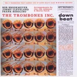 TROMBONES INC. BOB BROOKMEYER, JIMMY CLEVELAND, FRANK ROSOLINO BROOKMEYER/CLEVELAND/ROSO, CD