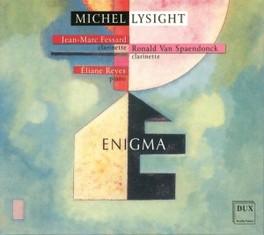 ENIGMA Audio CD, SPAENDONCK-FESSARD-REYES, CD