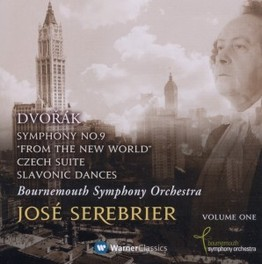 SYMPHONY NO 9 'FROM THE.. .. NEW WORLD', BOURNEMOUTH SO/SEREBRIER A. DVORAK, CD