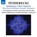 SINFONIETTAS/OBOE CAPRICC WARSAW PHIL.CHAMBER ORCHESTRA