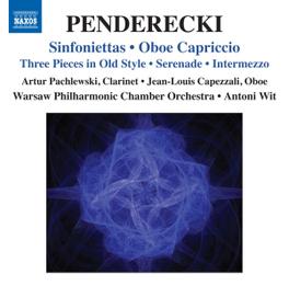 SINFONIETTAS/OBOE CAPRICC WARSAW PHIL.CHAMBER ORCHESTRA K. PENDERECKI, CD