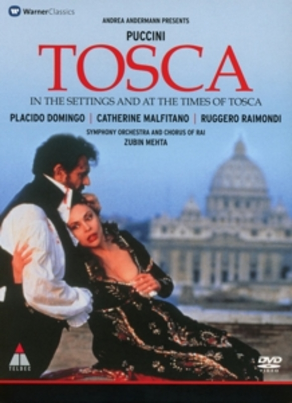 TOSCA ANDERMANN G. PUCCINI, DVDNL