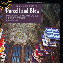 COUNTERTENORS DUETS BOWMAN/CHANCE/KING'S CONSORT PURCELL/BLOW, CD