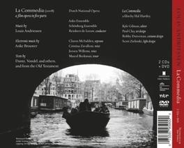 LA COMMEDIA -CD+DVD- DUTCH NATIONAL OPERA/REINBERT DE LEEUW//2CD+DVD L. ANDRIESSEN, CD