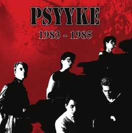1983 - 1985 *RED VINYL* BOOKLET, MP3 DOWNLOAD. RED VINYL, LTD TO 150 PSYYKE, Vinyl LP