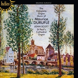 COMPLETE ORGAN MUSIC JOHN SCOTT M. DUPRE, CD