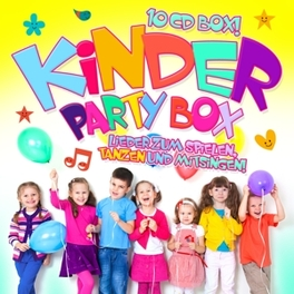 KINDER PARTY BOX V/A, CD