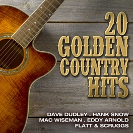 20 GOLDEN COUNTRY HITS JEWELCASE V/A, CD