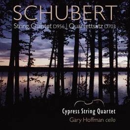 STRING QUARTET.. .. QUARTETTSATZ/CYPRESS STRING QUARTET/HOFFFMANN F. SCHUBERT, CD