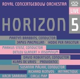 HORIZON 5 HUELGAS ENSEMBLE/RCO/VAN NEVEL/STENZ/ROBERTSON/MALKKI/B ROYAL CONCERTGEBOUW ORCHE, CD