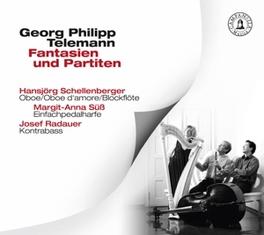 SIMPLICITY AND VARIETY HANSJORG SCHELLENBERGER/MARGIT-ANNA SUSS/JOSEF RADAUER G.P. TELEMANN, CD