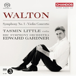 VIOLIN CONCERTO/SYM.NO.1 BBC SYMPHONY ORCHESTRA/EDWARD GARDNER/LITTLE W. WALTON, CD