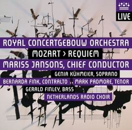 REQUIEM -SACD- ROYAL CONCERTGEBOUW ORCHESTRA/JANSONS/NETH.RADIO CHOIR W.A. MOZART, CD