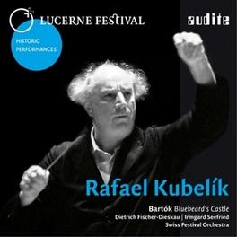 BLUEBEARD'S CASTLE LUCERNE FESTIVAL/FISCHER-DIESKAU B. BARTOK, CD