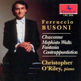 PIANOWORKS CHRISTOPHER O'RILEY F. BUSONI, CD