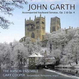 KEYBOARD SONATAS OP.2 & 4 AVISON ENSEMBLE J. GARTH, CD