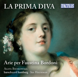 LA PRIMA DIVA:ARIAS FOR.. BAROCKWERK HAMBURG AGATA BIENKOWSKA, CD