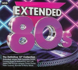 EXTENDED 80'S DEFINITIVE 12' COLLECTION, EXTENDED MIXES FROM: V/A, CD