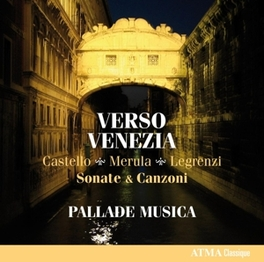 VERSO VENEZIA PALLADE MUSICA, CD