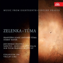 MUSIC FROM THE 18TH.. .. CENTURY PRAGUE//COLLEGIUM 1704 Zelenka, Jan Dismas, CD