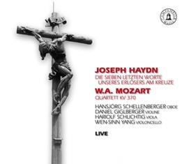 DIE 7 LETZTEN WORTE/QUART HANSJORG SCHELLENBERGER/DANIEL DIDLBERGER/WEN-SINN YANG HAYDN/MOZART, CD