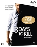 3 days to kill, (Blu-Ray)