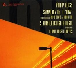 SYMPHONY NO.1 S.O.BASEL/DENNIS RUSSEL DAVIES PHILIP GLASS, CD