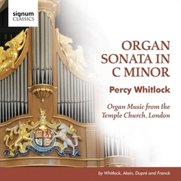 ORGAN SONATA IN C MINOR GREG MORRIS, CD