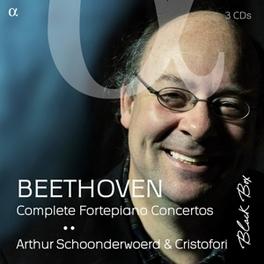 PIANO CONCERTOS ARTHUR SCHOONDERWOERD/CRISTOFORI L. VAN BEETHOVEN, CD
