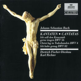 CANTATES BWV56,4,82 FISHER-DIESKAU/MUNCH.BACH ORCH./RICHTER Audio CD, J.S. BACH, CD
