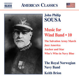 SOUSA MUSIC FOR WIND BAND ROYAL NORWEGIAN NAVY BAND, CD