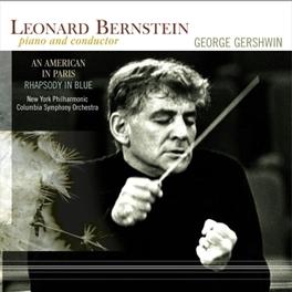 AN AMERICAN IN PARIS/RHAP LEONARD BERNSTEIN/NEW YORK PHILHARMONIC/180GR. G. GERSHWIN, Vinyl LP