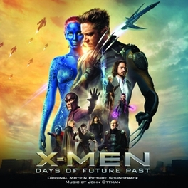 X-MEN:DAYS OF FUTURE PAST SCORE BY JOHN OTTMAN OST, CD