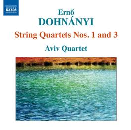 STRING QUARTETS NO.1 & 3 AVIV QUARTET E. DOHNANYI, CD