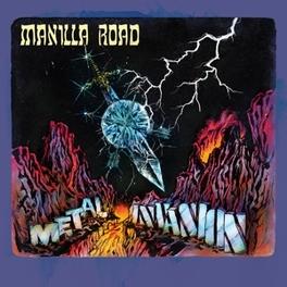 METAL-INVASION MANILLA ROAD, CD