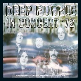 IN CONCERT '72 (2012.. .. REMIX) DEEP PURPLE, CD