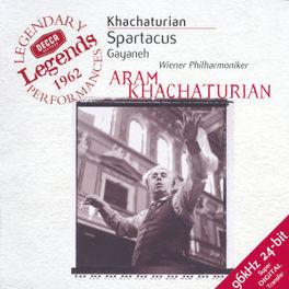SPARTACUS/SEASONS W/WIENER PHILHARMONIKER, ARAM KHACHATURIAN, ERNEST ANSE Audio CD, KHACHATURIAN/GLAZUNOV, CD