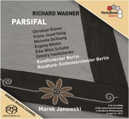 PARSIFAL RUNDFUNK S.O. BERLIN/M.JANOWSKI R. WAGNER, CD