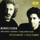 CELLO SONATAS/VARIATIONS W/MAISKY, TIEMPO