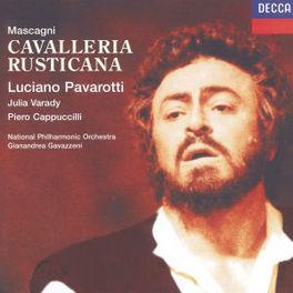 CAVALLERIA RUSTICANA -CR ITA- PAVAROTTI/NAPO/GAVAZZENI Audio CD, P. MASCAGNI, CD
