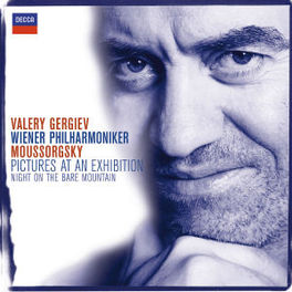 PICTURES AT AN EXHIBITION WIENER PHILHARMONIKER/VALERY GERGIEV Audio CD, M. MOUSSORGSKI, CD