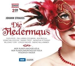 DIE FLEDERMAUS WDR RUNDFUNKORCH.KOLN/FRIEDRICH HAIDER J. STRAUSS, CD