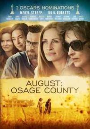 AUGUST: OSAGE COUNTY PAL/REGION 2 // W/ MERYL STREEP, JULIA ROBERTS