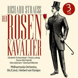 DER ROSENKAVALIER H. VON KARAJAN RICHARD STRAUSS, CD