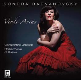 ARIAS RADVANOVSKY/PHILHARMONIA OF RUSSIA RADVANOVSKY/PHILHARMONIA, CD