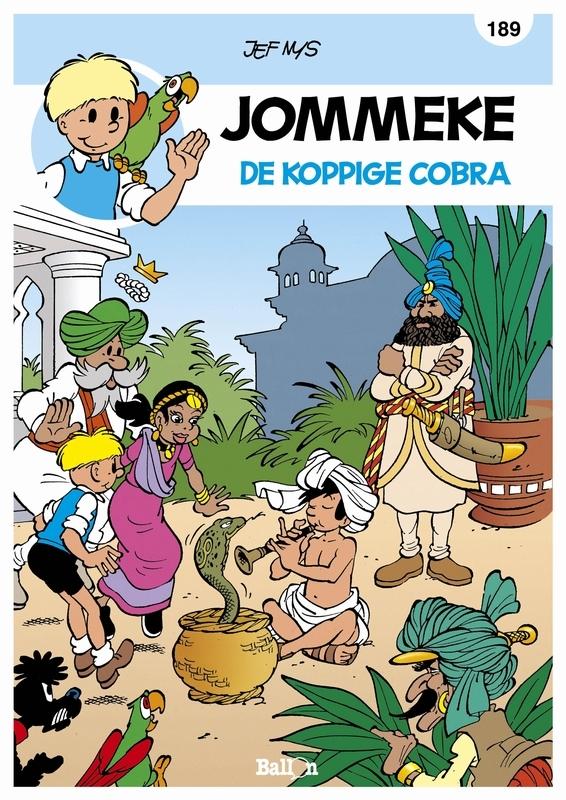 JOMMEKE 189. DE KOPPIGE COBRA JOMMEKE, NYS, JEF, Paperback