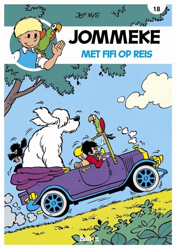 JOMMEKE 018. MET FIFI OP REIS JOMMEKE, Nys, Jef, Paperback