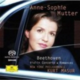 VIOLIN CONCERTO/ROMANCES ANNE-SOPHIE MUTTER//*AUDIO BLU RAY* L. VAN BEETHOVEN, BLURAY