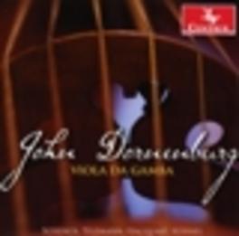VIOLA DE GAMBA WORKS BY TELEMANN/SCHENCK/KUHNEL JOHN DORNENBURG, CD