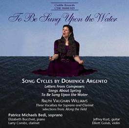 SONG CYCLES W/PATRICE MICHAELS BEDI, BUCCHERI ARGENTO/VAUGHAN WILLIAMS, CD